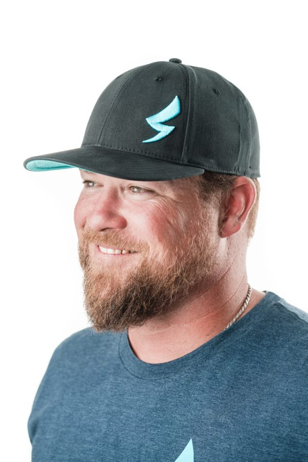 Speed-Mechanics-Apparel-Black-Teal-Baseball-Cap