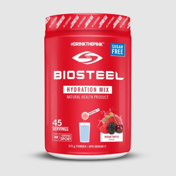 Mixed Berry Biosteel Hydration Mix 45 Servings